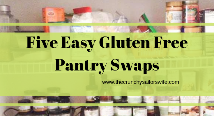 Five Easy Gluten Free pantry swaps