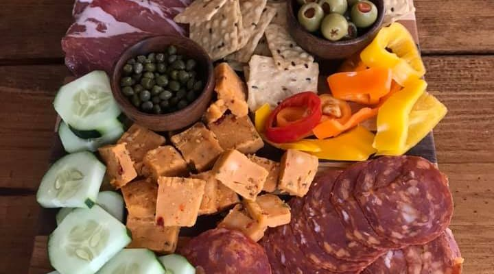 How to make a Mexican themed Charcuterie Board