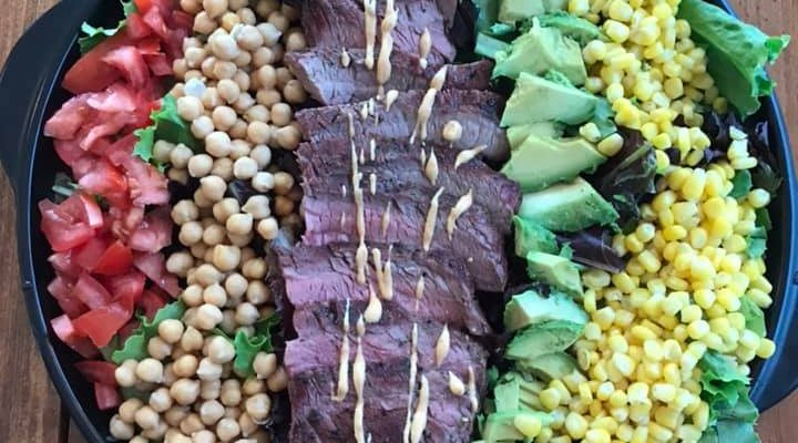 Grilled Steak Summer Salad